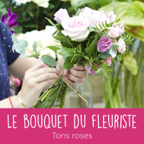 Bouquet du fleuriste Rose
