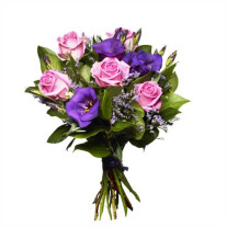 Bouquet Pink and Purple